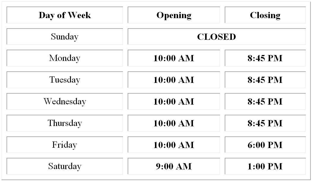 best buy hours of operation our hours 11937