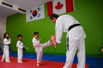 Kids Taekwondo Classes In Burnaby